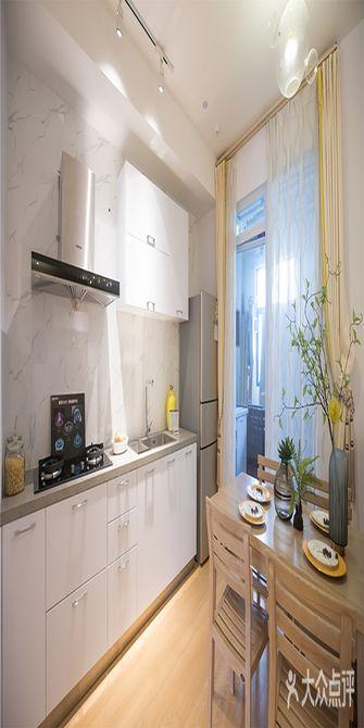 50平米公寓日式风格餐厅图