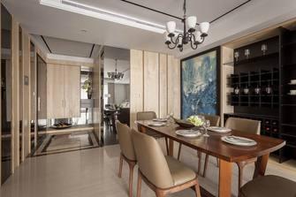 140平米三室五厅现代简约风格餐厅装修效果图