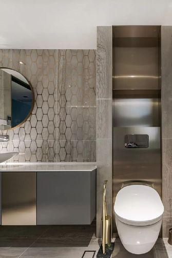 140平米复式混搭风格卫生间欣赏图