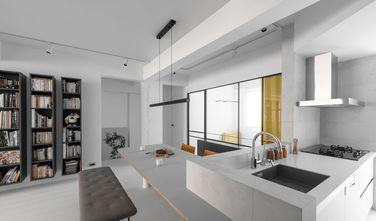 90平米三室一厅混搭风格厨房图片大全