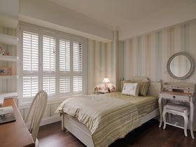 90平米三室兩廳地中海風格臥室圖片