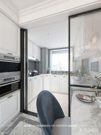 100平米三室两厅法式风格厨房欣赏图