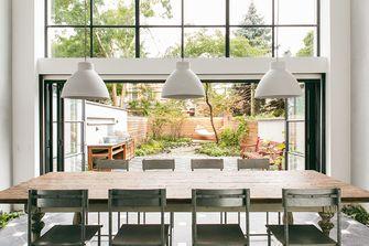 90平米一室两厅现代简约风格餐厅装修效果图