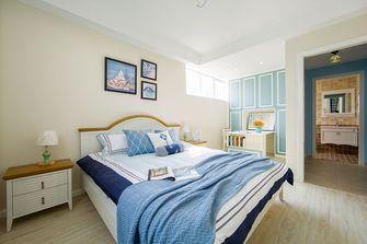 50平米公寓地中海风格卧室欣赏图