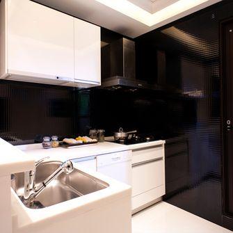 120平米三室一厅新古典风格厨房设计图