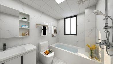 140平米三室三厅现代简约风格卫生间装修图片大全
