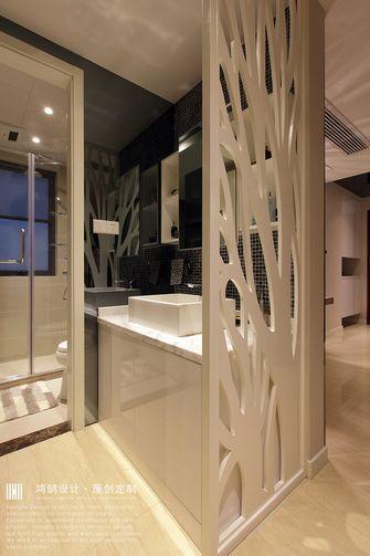 15-20万130平米三室两厅现代简约风格卫生间装修案例