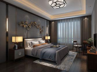 140平米三室两厅中式风格卧室壁纸欣赏图