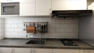 70平米一室两厅现代简约风格厨房装修图片大全