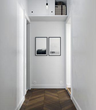60平米一室一厅北欧风格走廊装修案例
