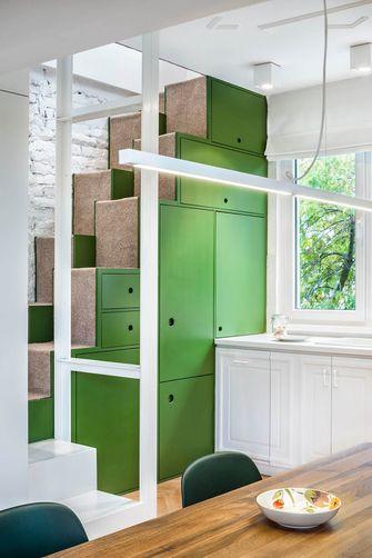 富裕型100平米复式北欧风格楼梯图片大全