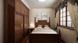 50平米小户型美式风格卧室装修案例