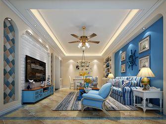 90平米三地中海风格客厅图片