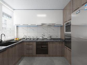 140平米三室三厅混搭风格厨房图