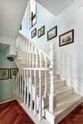 140平米四室一厅法式风格楼梯间装修案例