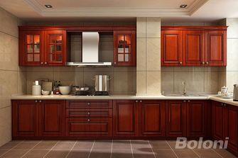 130平米三室两厅欧式风格厨房效果图