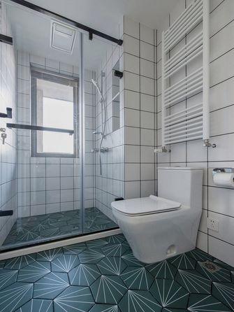 110平米三室两厅北欧风格卫生间欣赏图