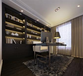 140平米四室两厅欧式风格书房装修案例