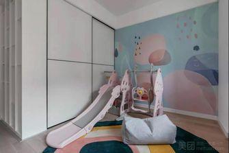 90平米三混搭风格儿童房图片大全