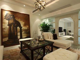 140平米复式田园风格客厅装修案例
