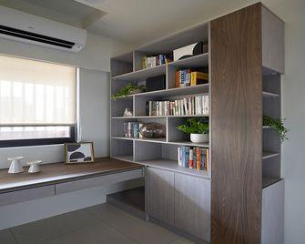 30平米以下超小户型日式风格书房图