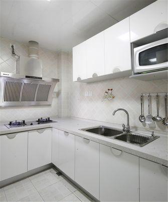 100平米田园风格厨房效果图