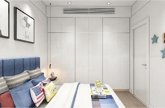 140平米三室两厅北欧风格儿童房欣赏图