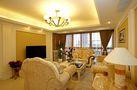 140平米三室两厅欧式风格餐厅沙发设计图