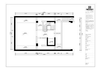 100平米别墅中式风格影音室装修案例