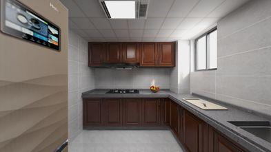 60平米一居室中式风格厨房欣赏图