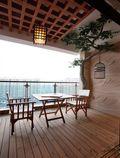 140平米三室两厅东南亚风格阳台装修图片大全