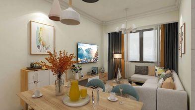 100平米一室一厅中式风格客厅设计图