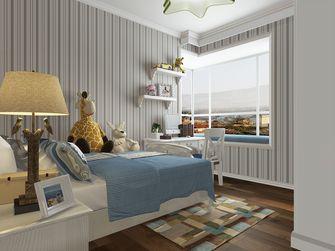 130平米三室两厅美式风格卧室设计图