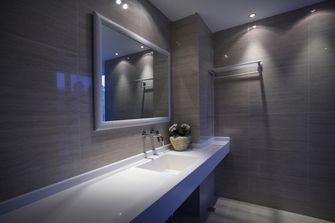 100平米三室一厅田园风格卫生间图片