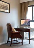 100平米三室两厅美式风格书房图片
