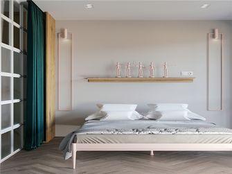 110平米三室两厅田园风格卧室装修案例