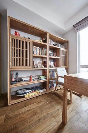 80平米日式风格书房图
