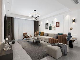 110平米三室两厅混搭风格客厅欣赏图