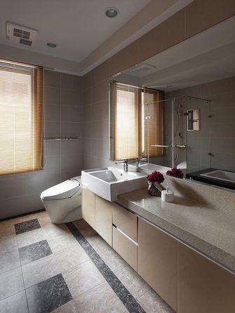 140平米三室两厅美式风格卫生间装修效果图