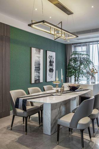 豪华型140平米现代简约风格餐厅图片