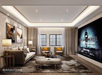 140平米别墅混搭风格影音室图