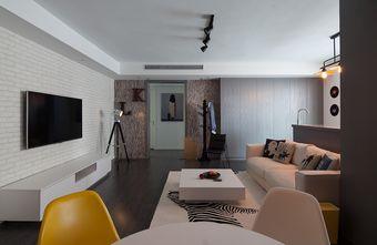 120平米三室两厅混搭风格客厅欣赏图