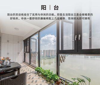 140平米四室两厅欧式风格阳台图片大全