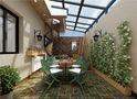 140平米三室两厅田园风格阳光房图
