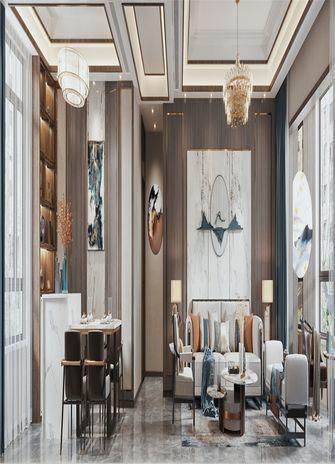 90平米三室一厅中式风格书房设计图