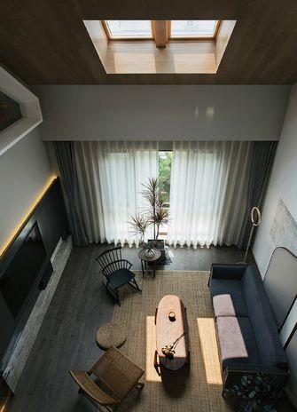 60平米复式现代简约风格阁楼装修效果图