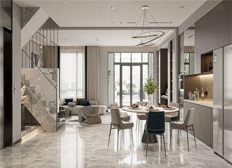 140平米别墅现代简约风格楼梯间图片