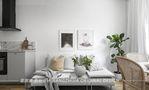 经济型30平米以下超小户型美式风格客厅装修案例