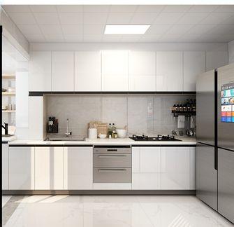110平米田园风格厨房图片