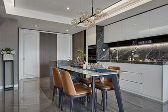 140平米四室两厅英伦风格餐厅装修图片大全